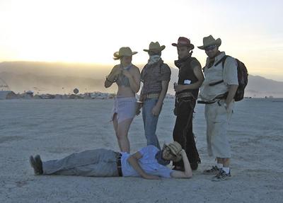 Cowboy Sunset 2006