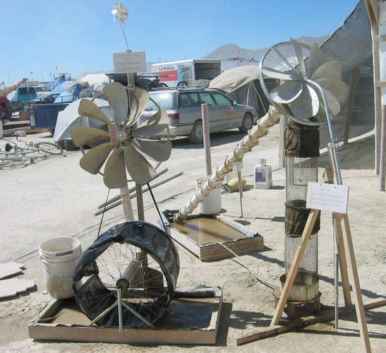 windmill evaporator