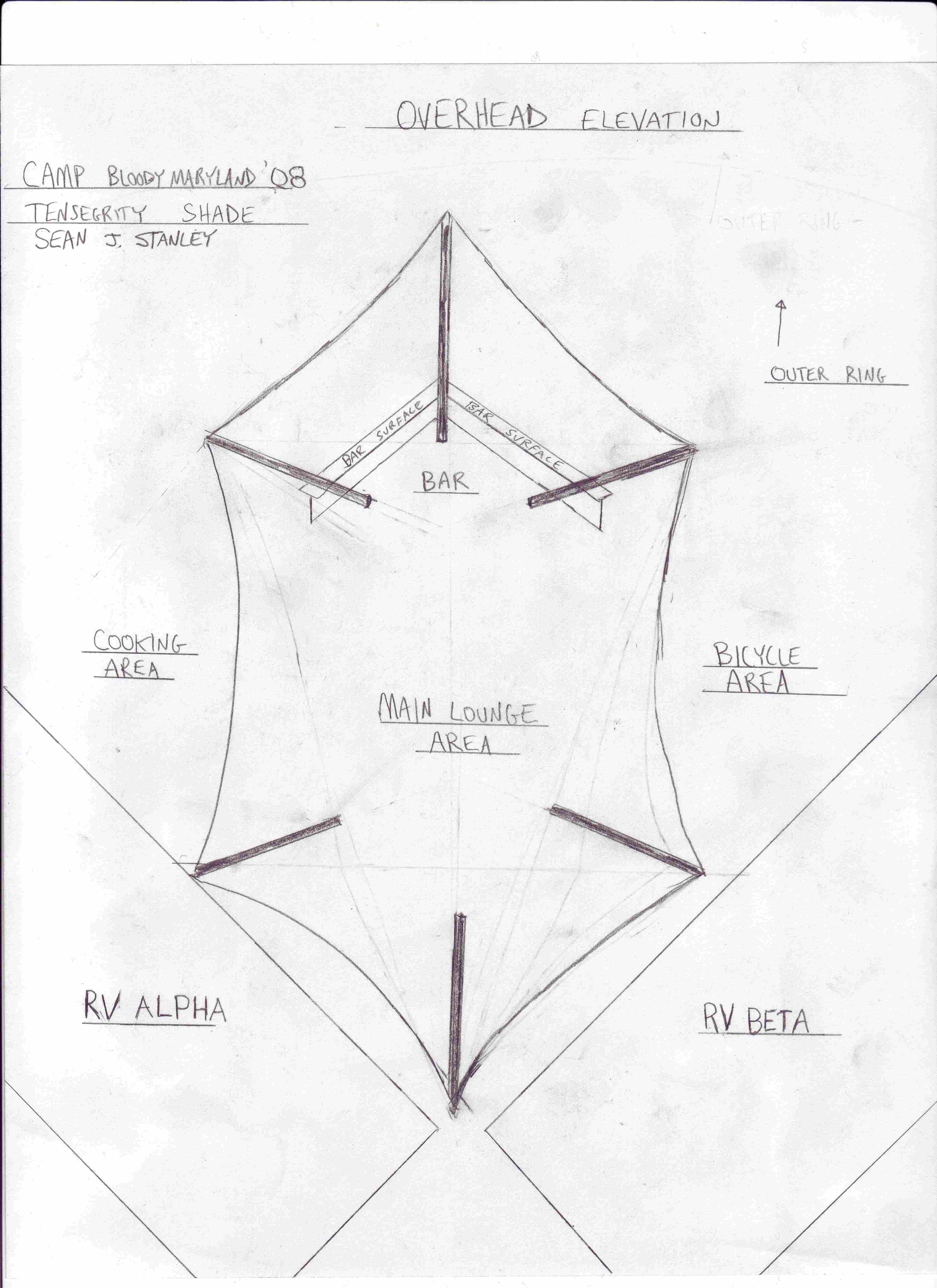 Tensegrity Structure Overhead Elevation Sc 1 St BloodyMaryLand. image number 17 of tensile roof details ...  sc 1 st  memphite.com & Tensile Roof Details u0026 Engineering And Design Tensile Structure ...