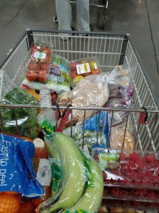 Groceries for the week